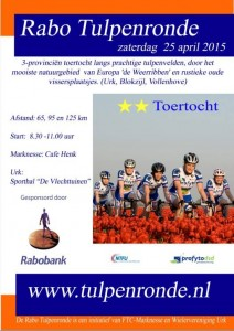 poster tulpenronde 2015
